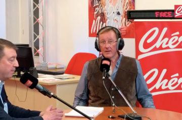 Franck Binet recevait, en direct, sur Chérie FM Cambrai, Philippe Copie, Président de l'Union Commerciale de Cambrai.