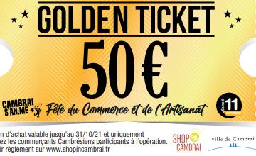 "Le jeu ""Golden Ticket"""