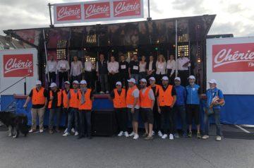 Course de garçons de café organisée par Shop in Cambrai